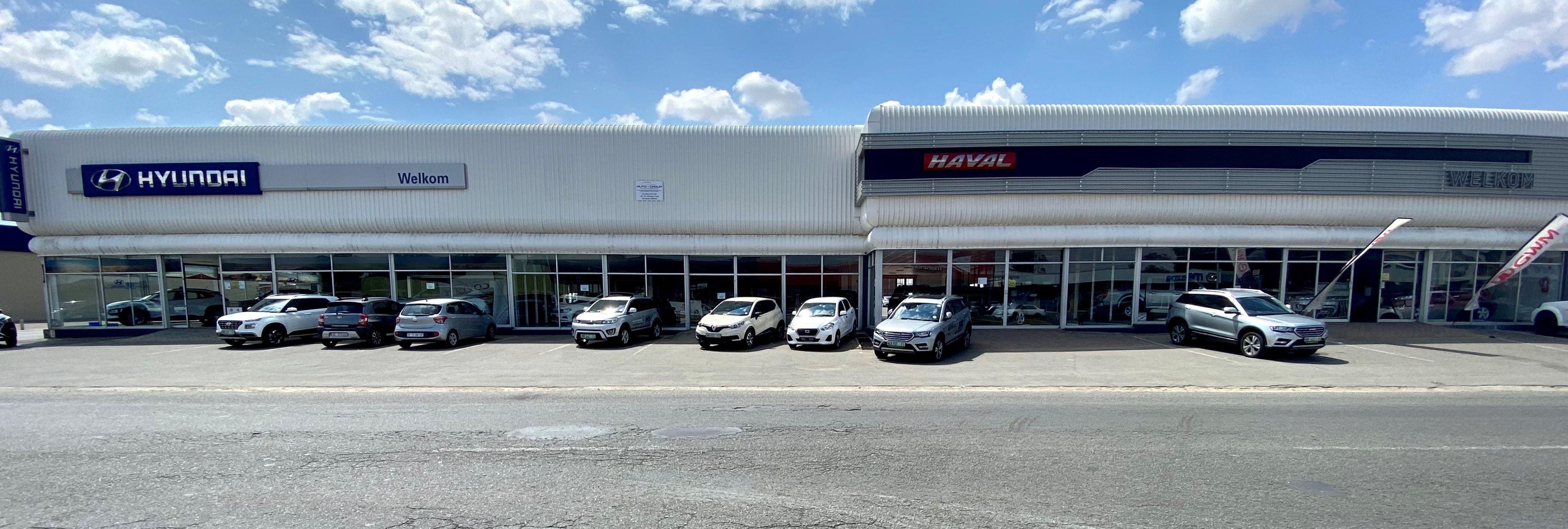 BB Welkom's Hyundai and Haval Dealerships.