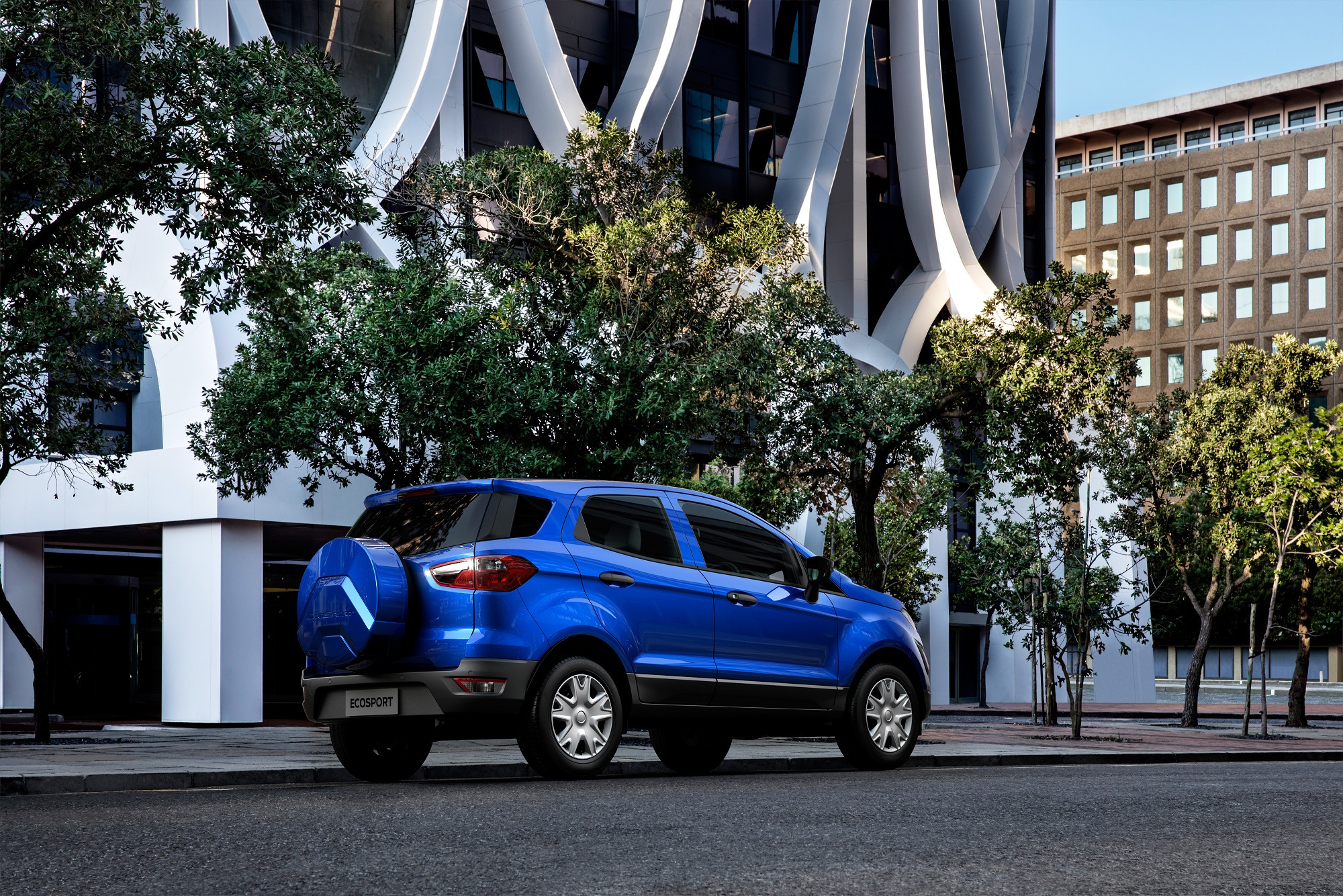 Ford Eco Sport Ambiente rear
