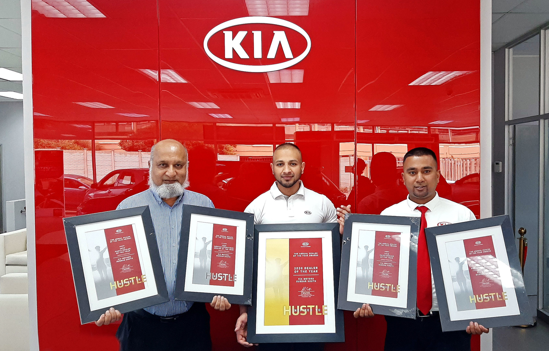 KIA Dealer of the Year Award Winners