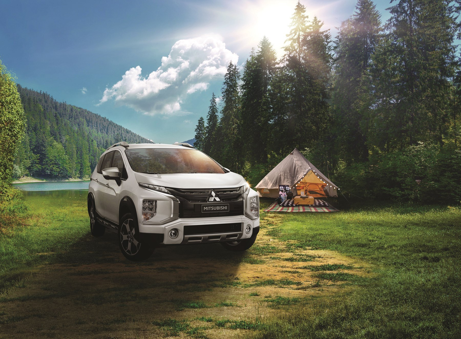 Mitsubishi's new Xpander Cross will find its way onto the local market as one of the new products planned for local introduction within the next two years. The other model is the small hatchback, called the Mirage.
