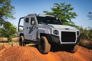 SVI creates new Max 3 bullet proof vehicle