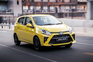 Toyota launches Agya in SA