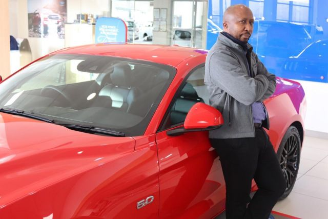 Mokhethi Monareng, new Dealer Principal at Ford Tygervalley