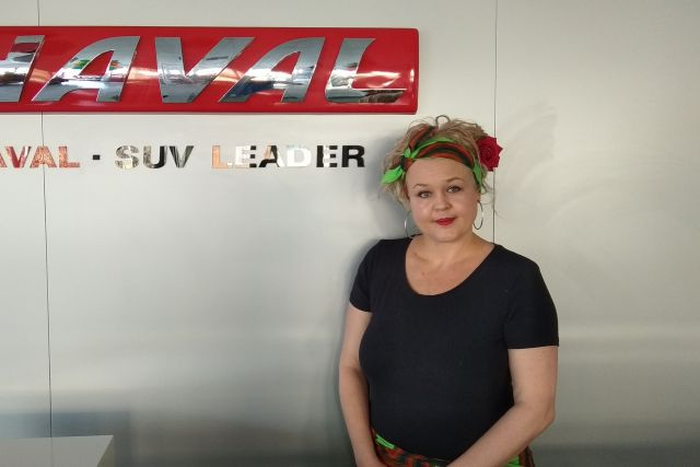 Kerry Lee Palm, Dealer Principal at GMW and HAVAL in Rustenburg